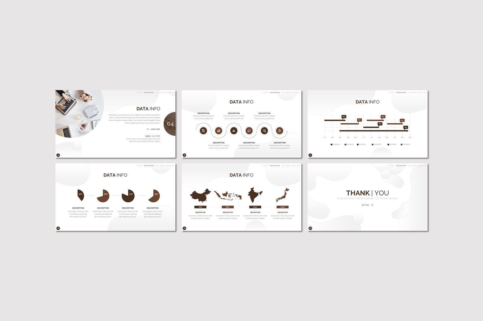 Clevernes - Powerpoint Template, Slide 4, 07761, Presentation Templates — PoweredTemplate.com