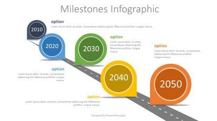 Timelines & Calendars: Milestones Concept Infographics #07762