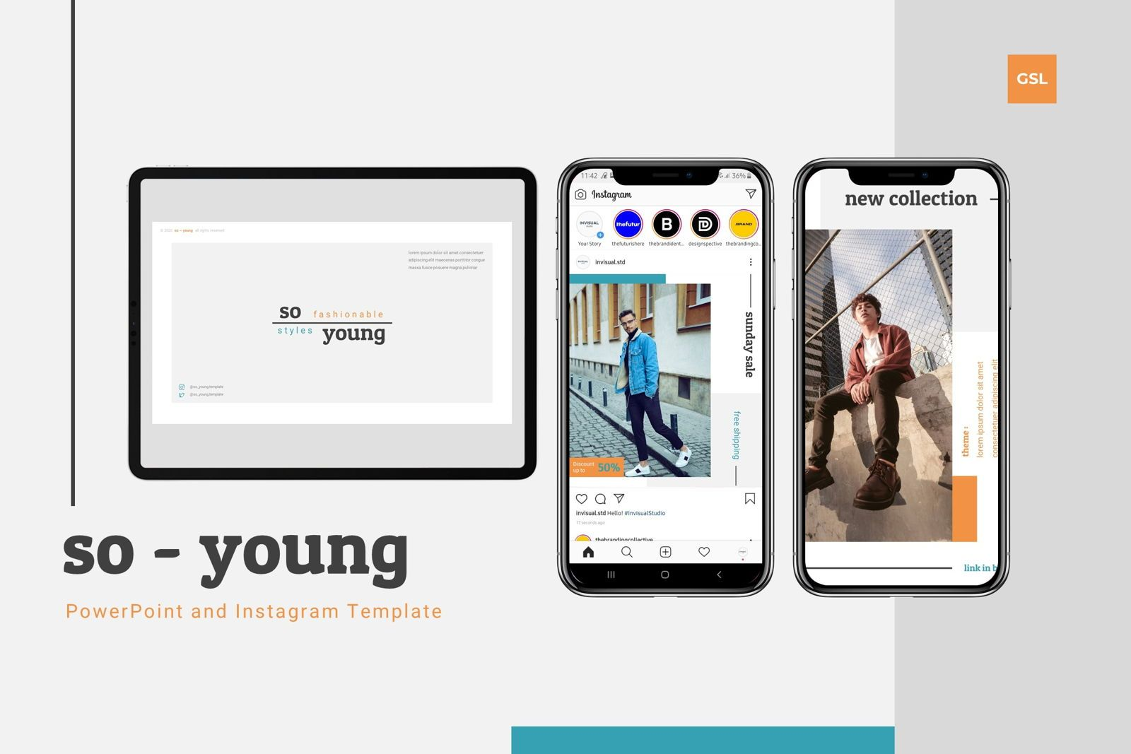 So Young - Google Slides Template, 07765, 演示模板 — PoweredTemplate.com