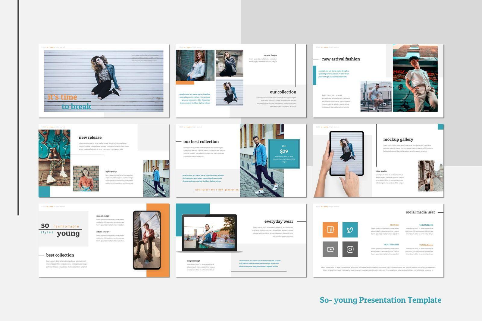 So Young - Google Slides Template, Slide 4, 07765, Presentation Templates — PoweredTemplate.com