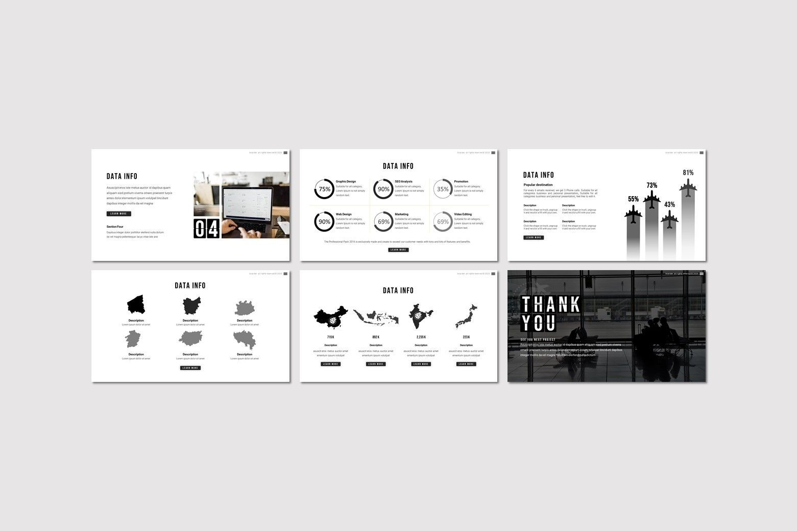 Boarder - Keynote Template, Slide 4, 07768, Presentation Templates — PoweredTemplate.com