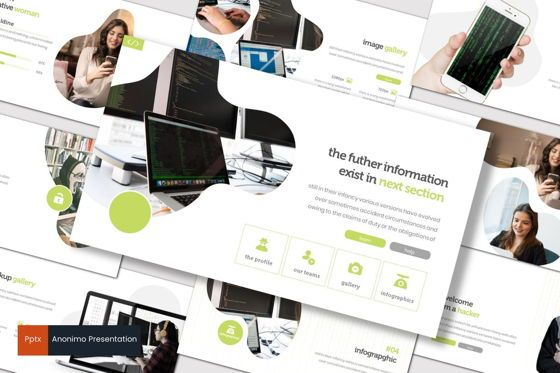 Presentation Templates: Anonimo - PowerPoint Template #07769