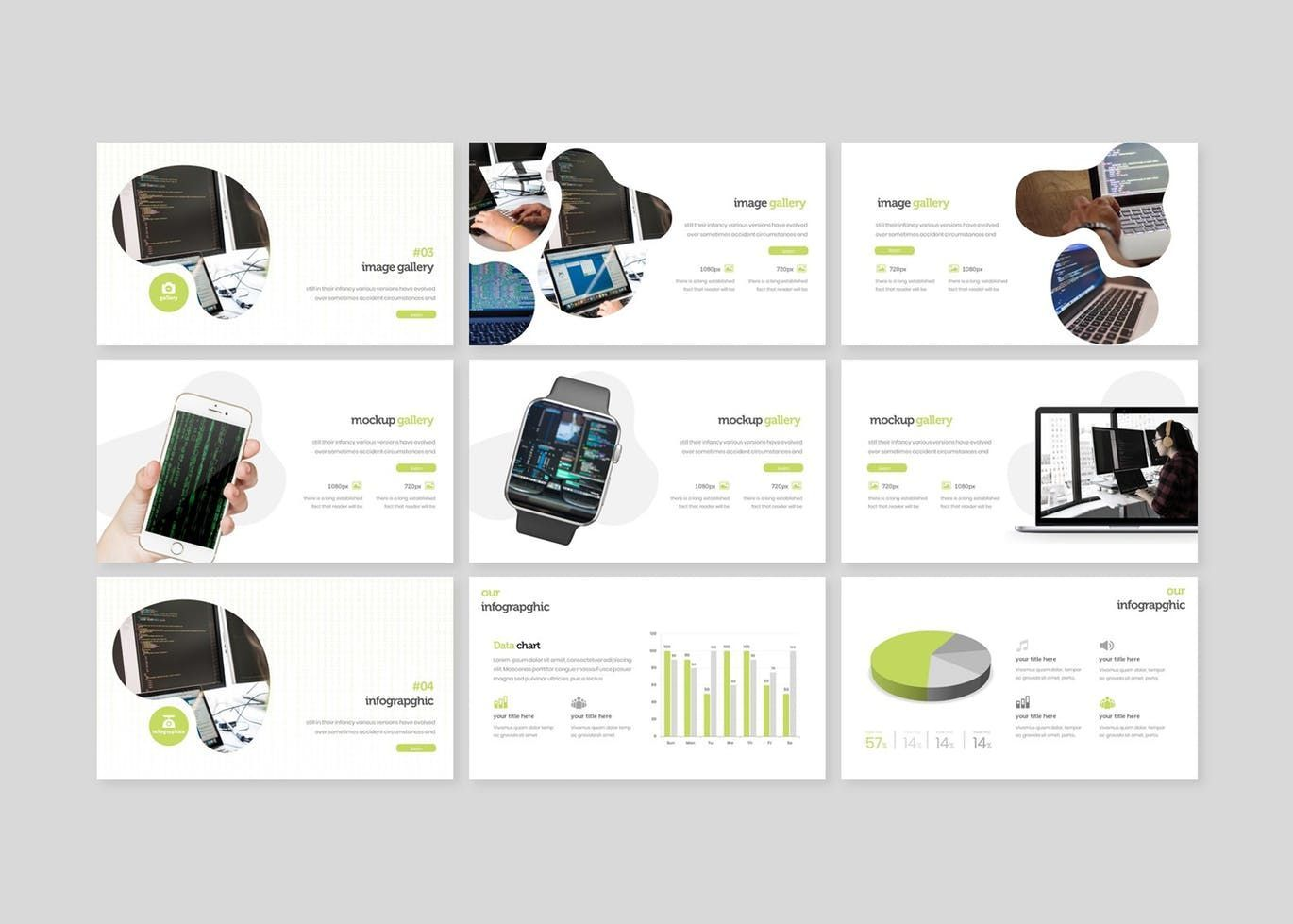 Anonimo - PowerPoint Template, Slide 4, 07769, Presentation Templates — PoweredTemplate.com