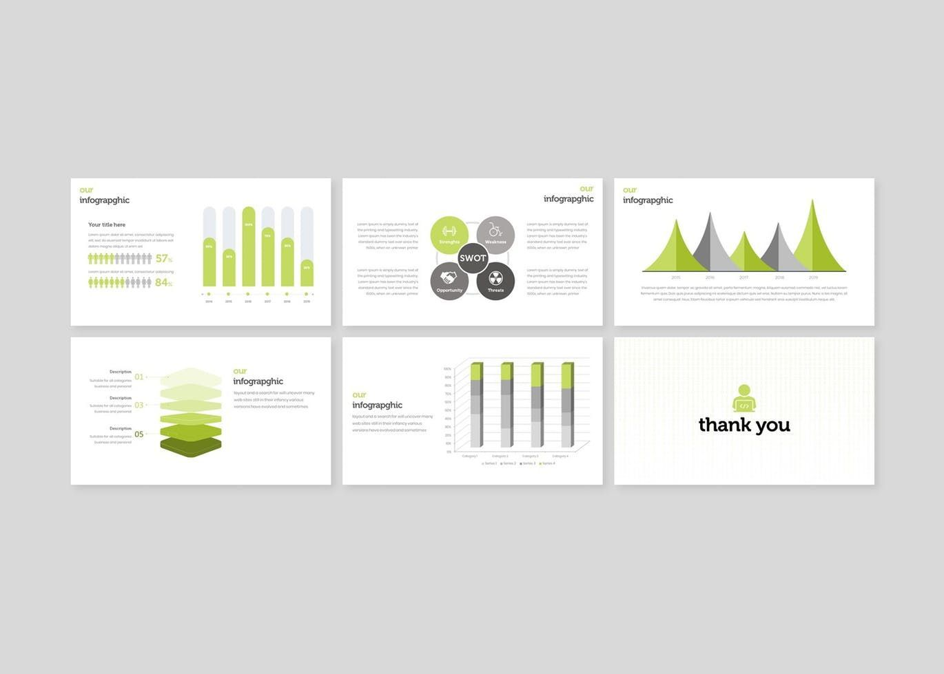 Anonimo - PowerPoint Template, Slide 5, 07769, Presentation Templates — PoweredTemplate.com
