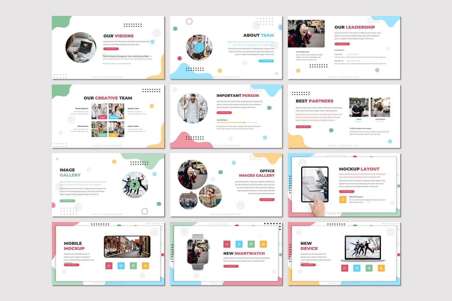 Castarica - Google Slides Template, Slide 3, 07772, Presentation Templates — PoweredTemplate.com