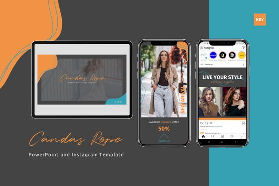 Presentation Templates: Candas Rope - Keynote Template #07776