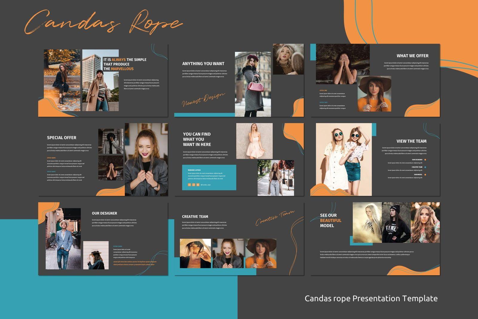 Candas Rope - Keynote Template, Slide 3, 07776, Presentation Templates — PoweredTemplate.com