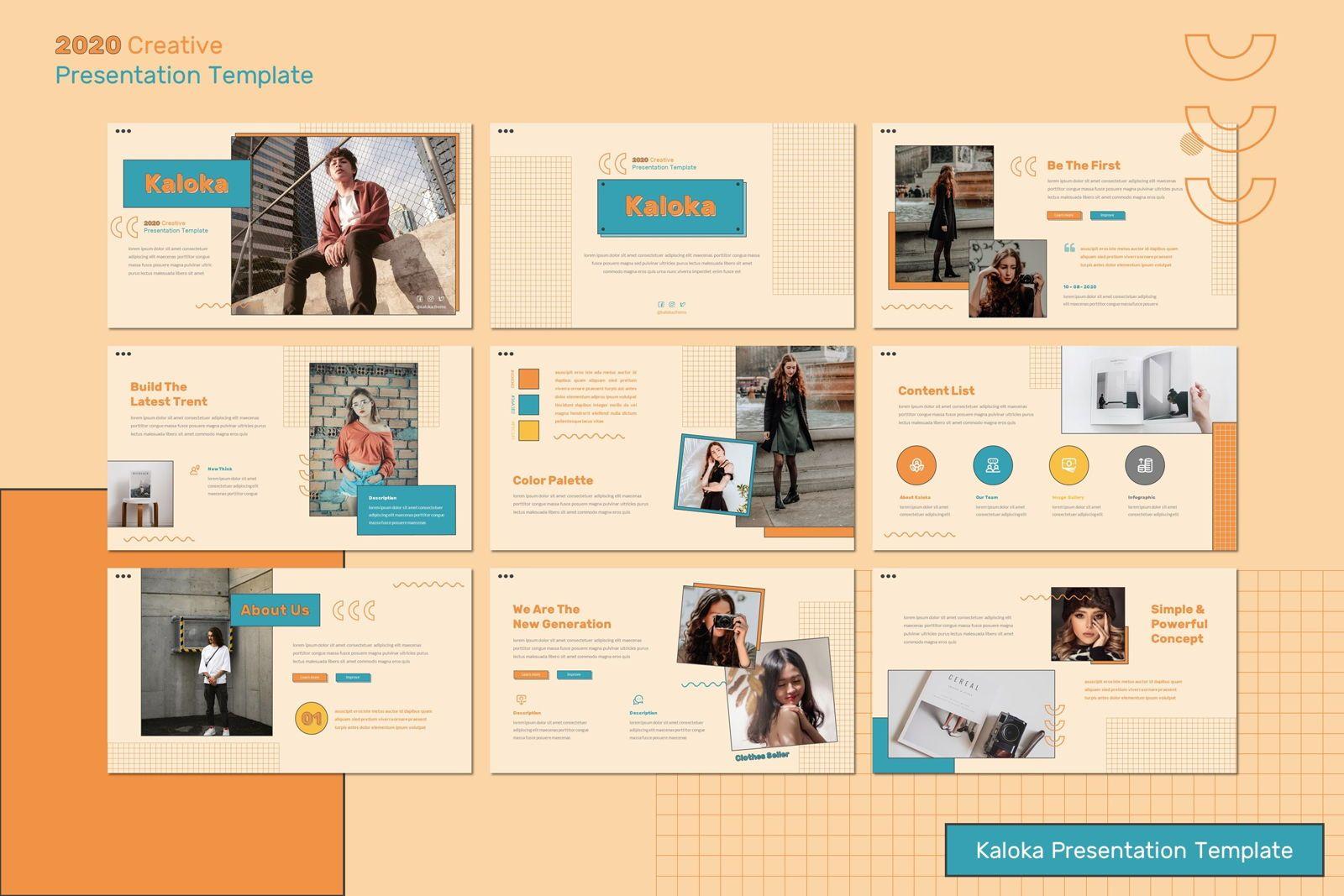 Kaloka - Powerpoint Template, Slide 2, 07778, Presentation Templates — PoweredTemplate.com