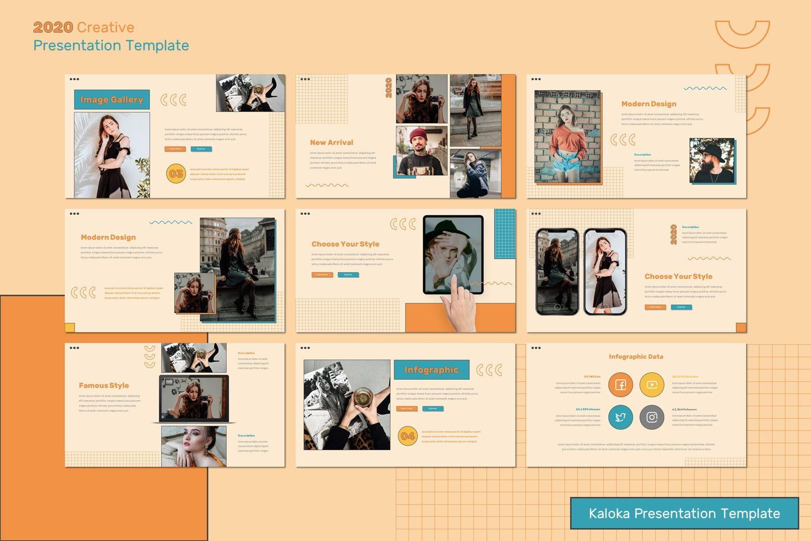 Kaloka - Powerpoint Template, Slide 4, 07778, Presentation Templates — PoweredTemplate.com