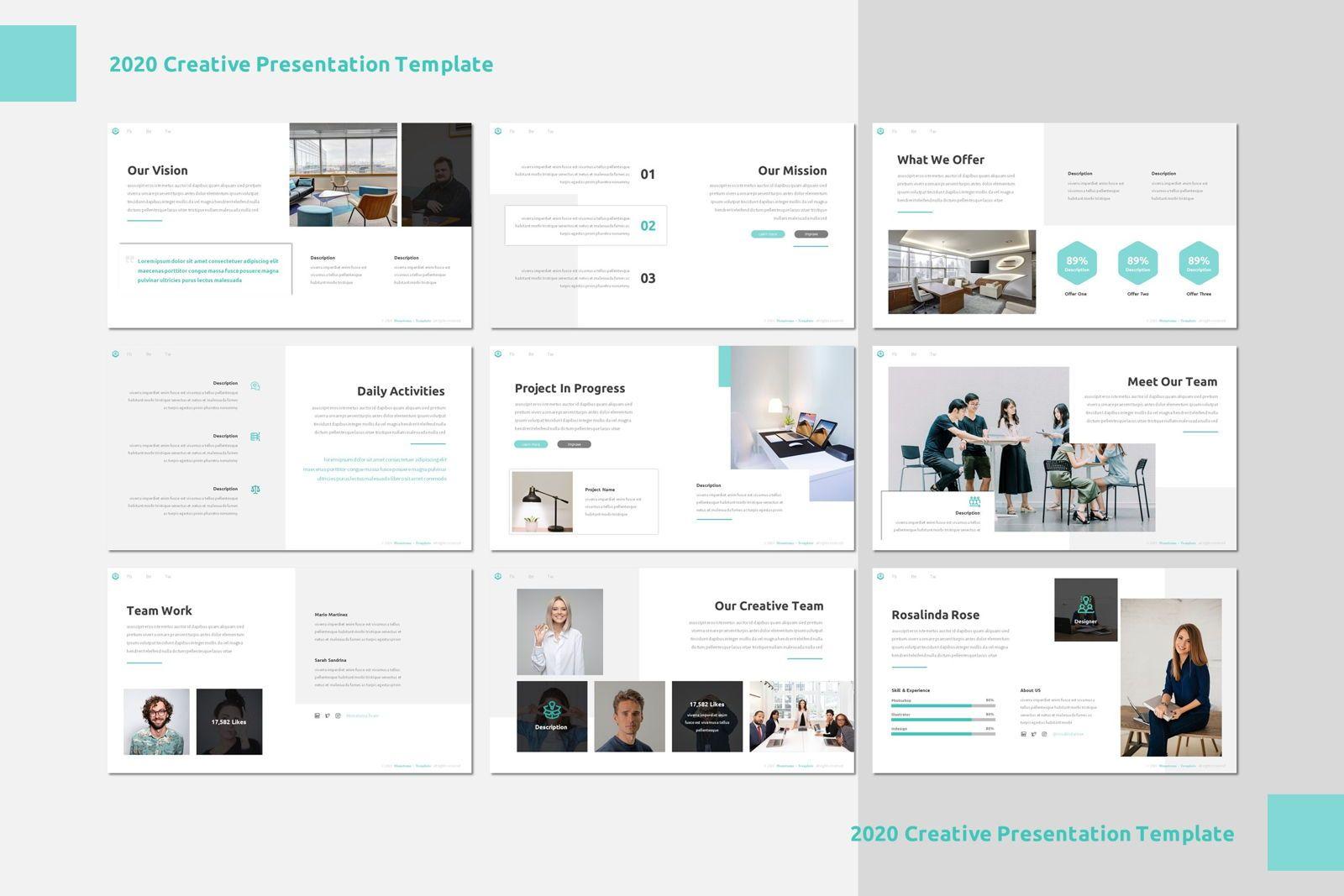 Monatoma - Powerpoint Template, Slide 3, 07779, Presentation Templates — PoweredTemplate.com