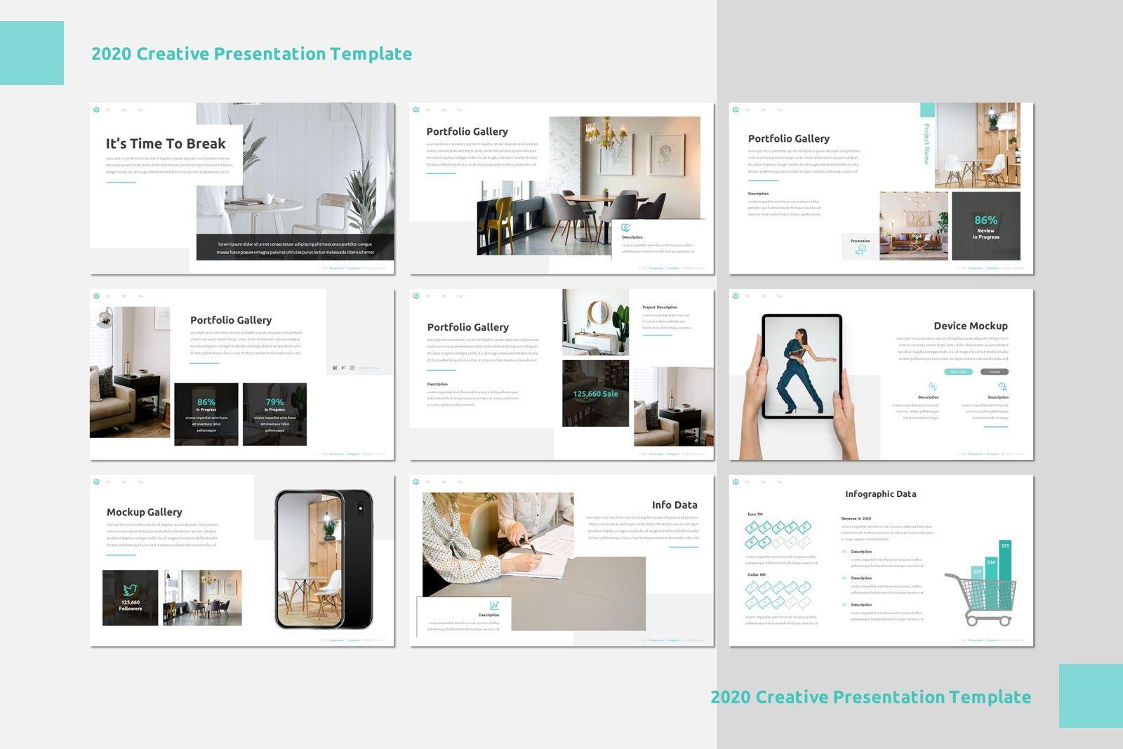 Monatoma - Powerpoint Template, Slide 4, 07779, Presentation Templates — PoweredTemplate.com