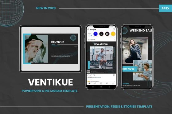Presentation Templates: Ventikue - Powerpoint Template #07780