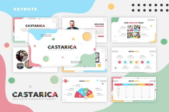 Presentation Templates: Castarica - Keynote Template #07783