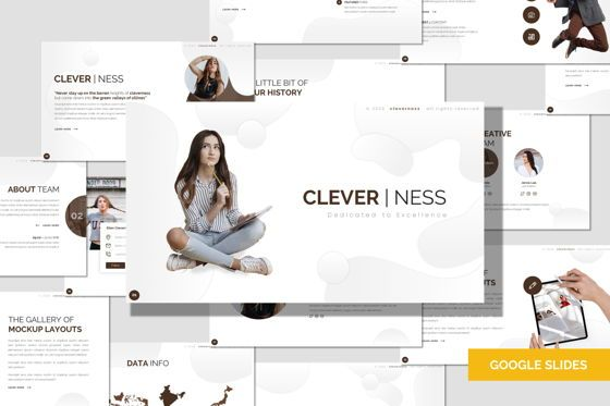 Presentation Templates: Clevernes - Google Slides Template #07784