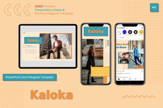 Presentation Templates: Kaloka - Keynote Template #07794