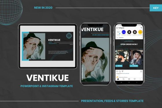 Presentation Templates: Ventikue - Keynote Template #07796