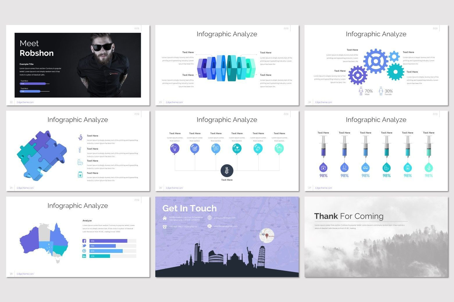 Edge - Google Slides Template, Slide 5, 07799, Presentation Templates — PoweredTemplate.com
