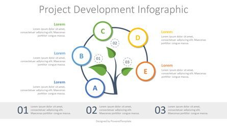 Infographics: Project Development Concept Inforgraphic #07803