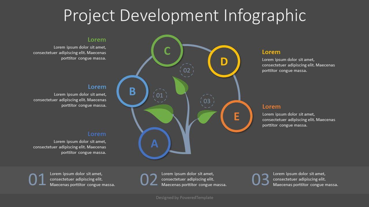 Project Development Concept Inforgraphic, Slide 2, 07803, Infographics — PoweredTemplate.com