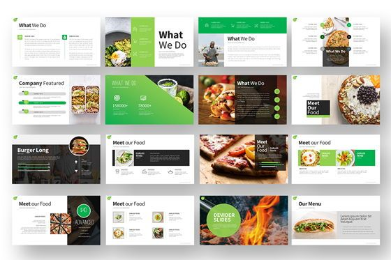 Gofood Keynote Templates, Slide 3, 07806, Business Models — PoweredTemplate.com