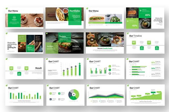Gofood Keynote Templates, Slide 4, 07806, Business Models — PoweredTemplate.com