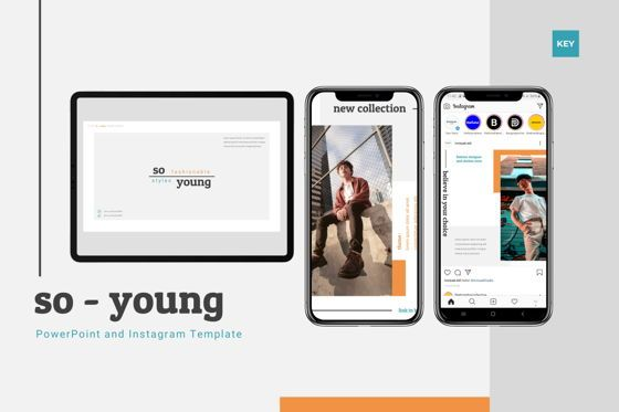 Presentation Templates: So Young - Keynote Template #07809