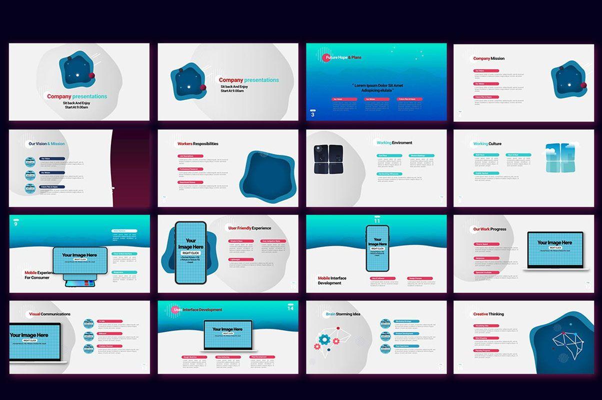 Modern Cartoon PowerPoint Template, Slide 10, 07811, Presentation Templates — PoweredTemplate.com