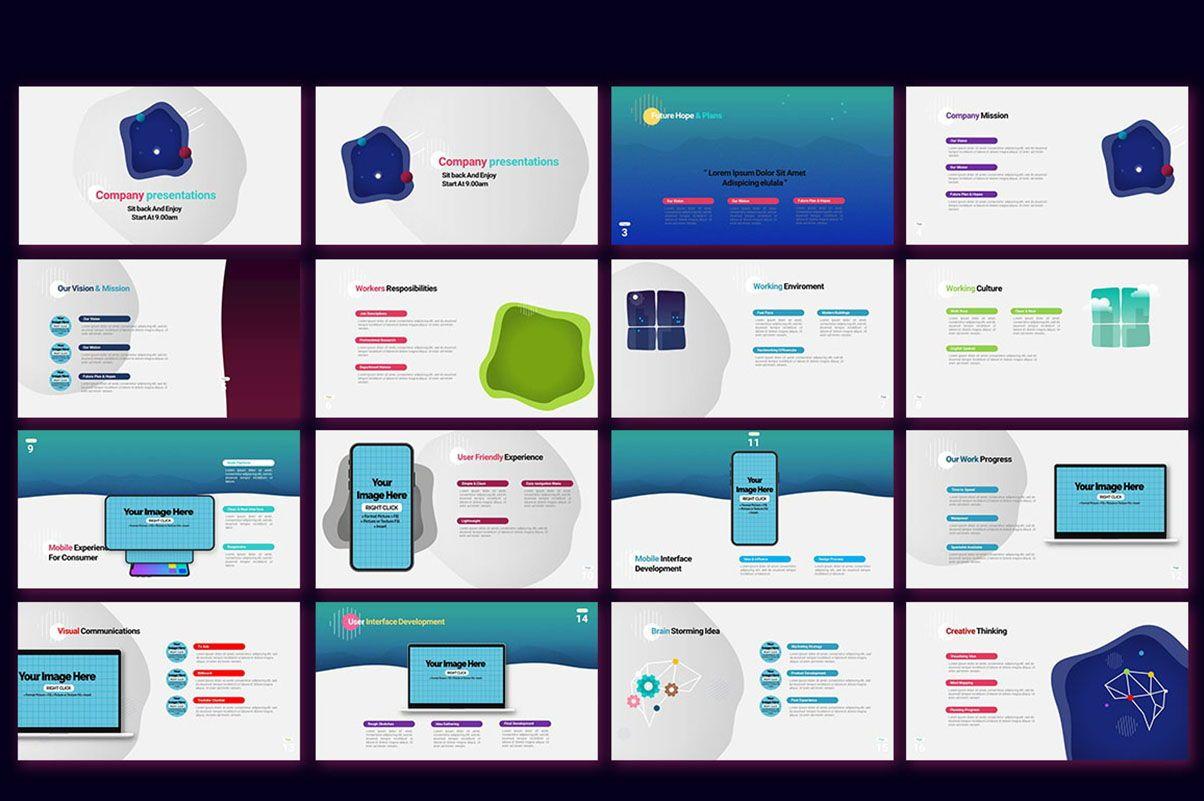 Modern Cartoon PowerPoint Template, Slide 2, 07811, Presentation Templates — PoweredTemplate.com