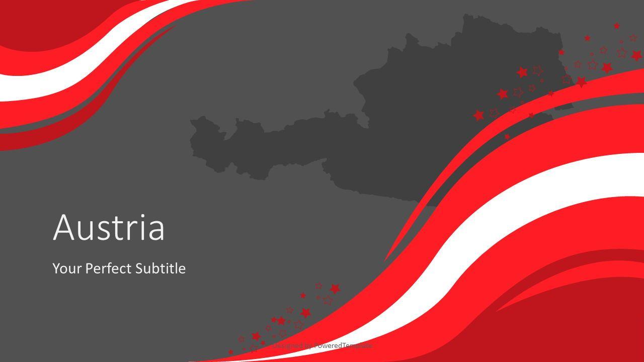Austria Happy National Day, Slide 2, 07813, Presentation Templates — PoweredTemplate.com