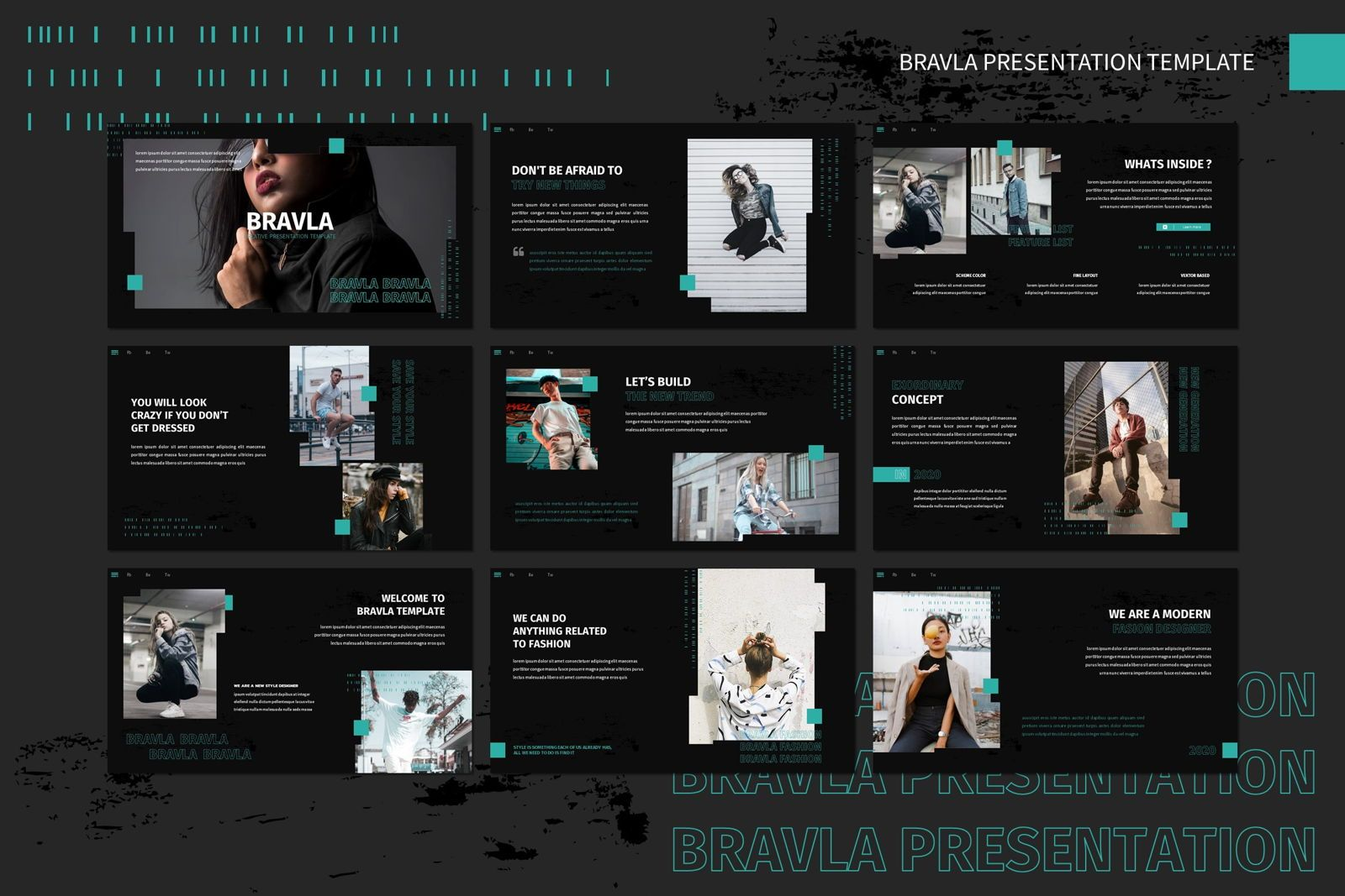 Bravla - Keynote Template, Slide 2, 07815, Presentation Templates — PoweredTemplate.com
