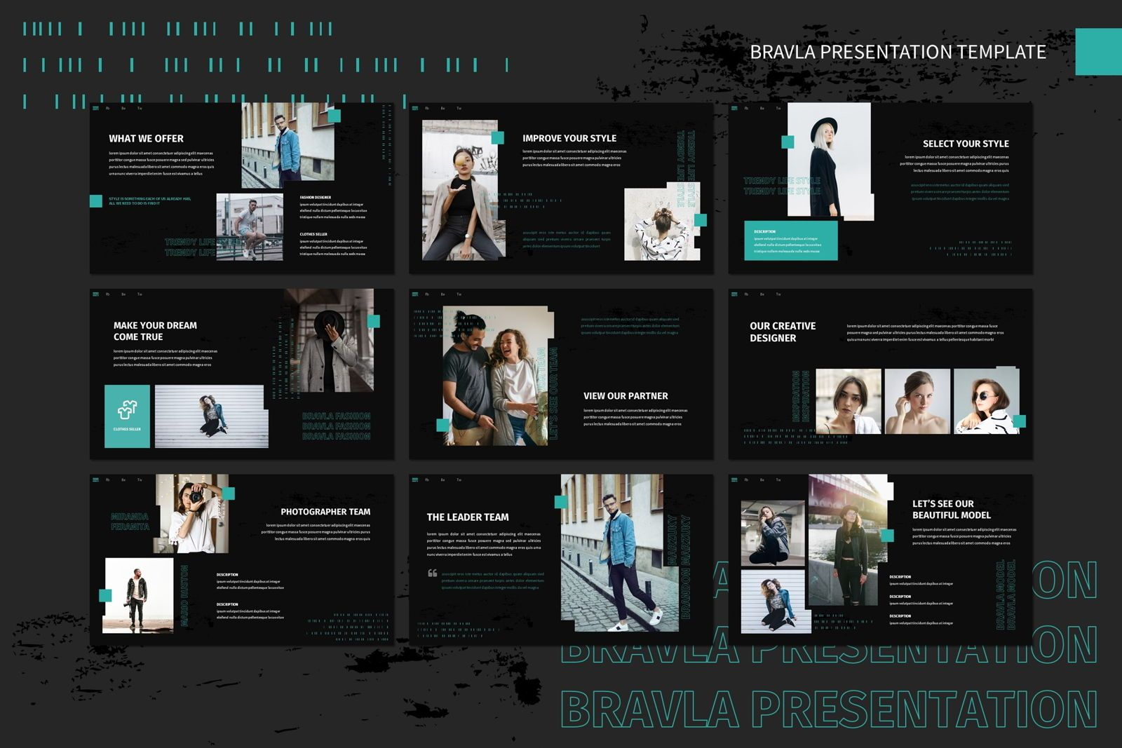 Bravla - Keynote Template, Slide 3, 07815, Presentation Templates — PoweredTemplate.com