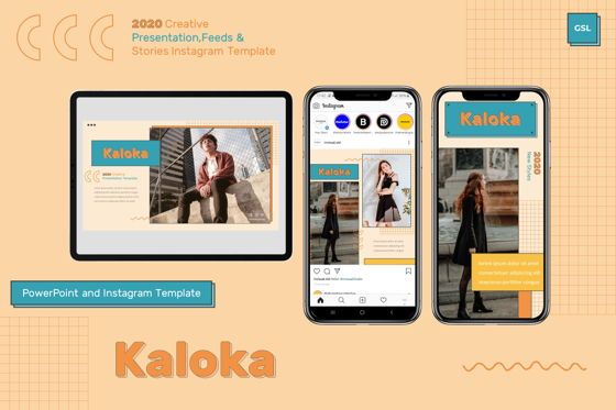 Presentation Templates: Kaloka - Google Slides Template #07818