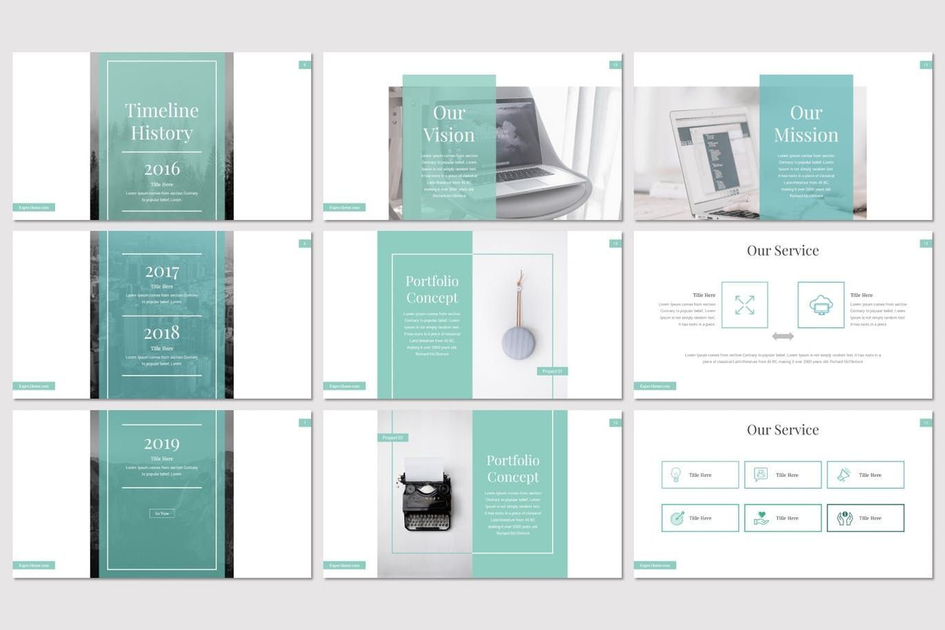 Expec - PowerPoint Template, Slide 3, 07820, Presentation Templates — PoweredTemplate.com