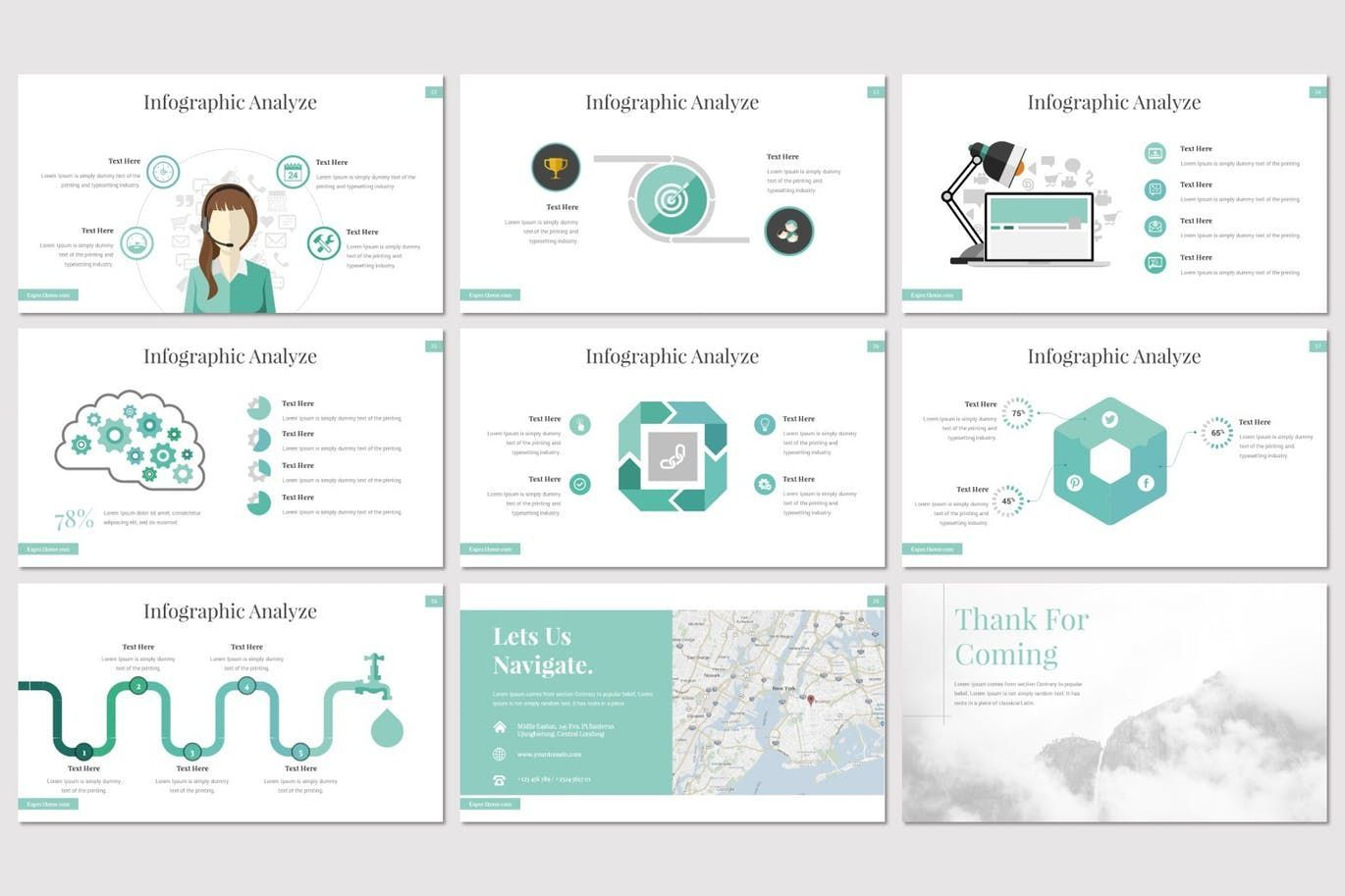 Expec - PowerPoint Template, Slide 5, 07820, Presentation Templates — PoweredTemplate.com