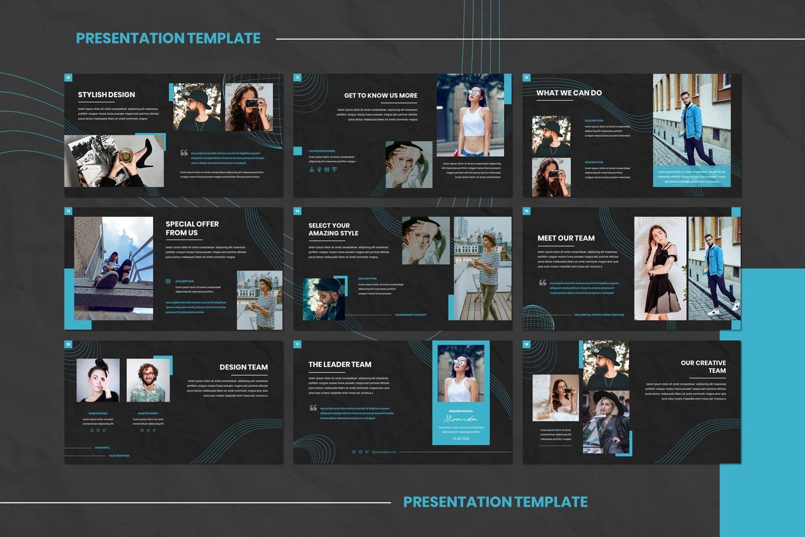 Ventikue - Google Slides Template, Slide 3, 07821, Presentation Templates — PoweredTemplate.com