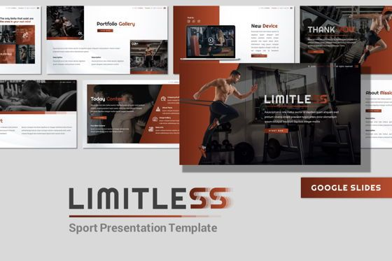 Presentation Templates: Limitless - Google Slides Template #07825