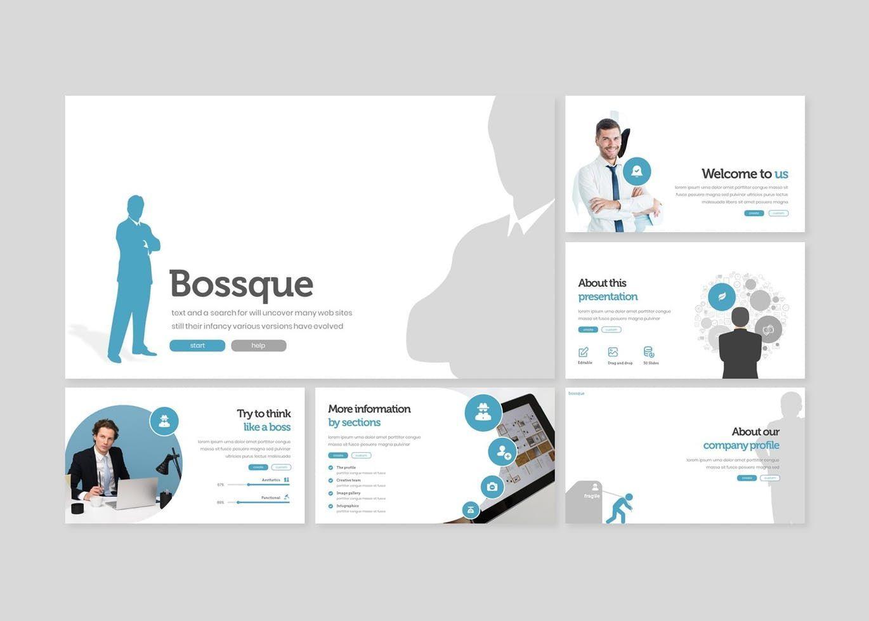 Bossque - Google Slides Template, Slide 2, 07828, Presentation Templates — PoweredTemplate.com