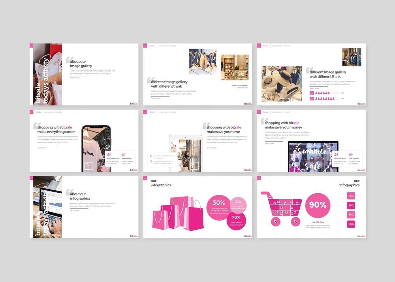 Bitsale - PowerPoint Template, Slide 4, 07830, Presentation Templates — PoweredTemplate.com