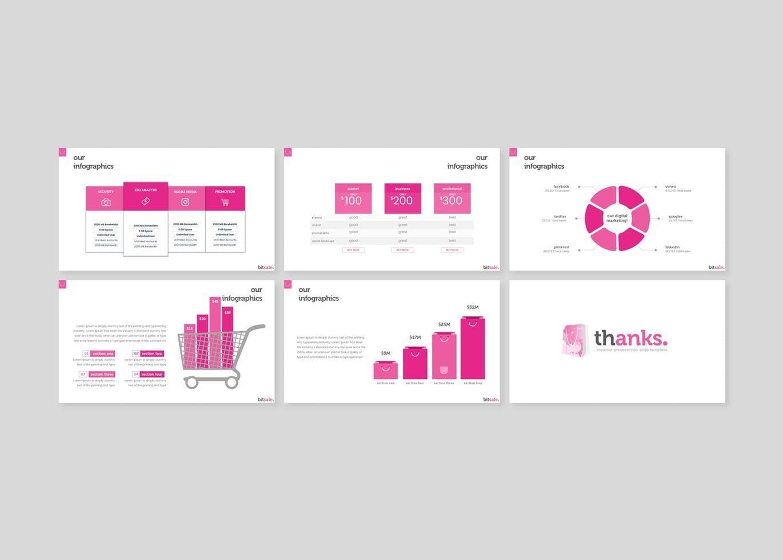 Bitsale - PowerPoint Template, Slide 5, 07830, Presentation Templates — PoweredTemplate.com