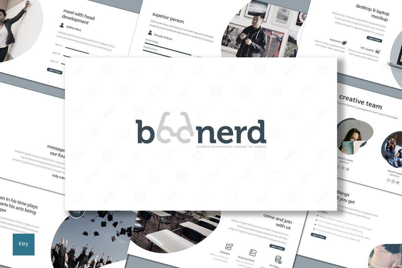 Boonerd - Google Slides Template, 07832, Presentation Templates — PoweredTemplate.com