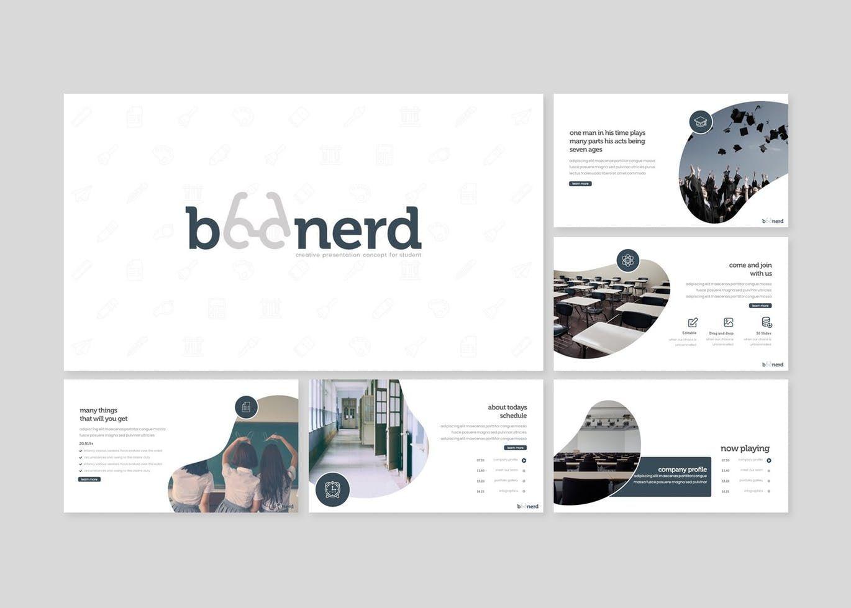 Boonerd - Google Slides Template, Slide 2, 07832, Presentation Templates — PoweredTemplate.com