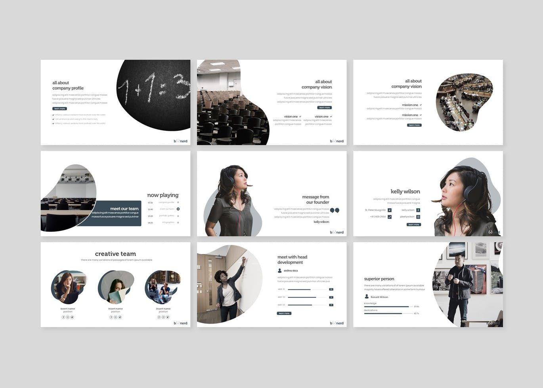 Boonerd - Google Slides Template, Slide 3, 07832, Presentation Templates — PoweredTemplate.com