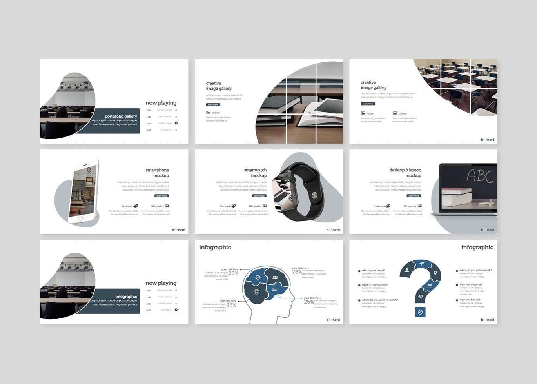 Boonerd - Google Slides Template, Slide 4, 07832, Presentation Templates — PoweredTemplate.com