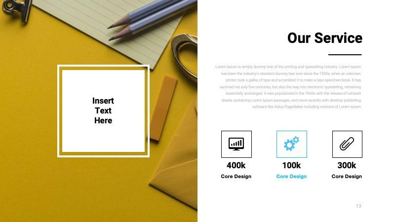 TEMPO Business Googleslide Template, Slide 14, 07836, Presentation Templates — PoweredTemplate.com