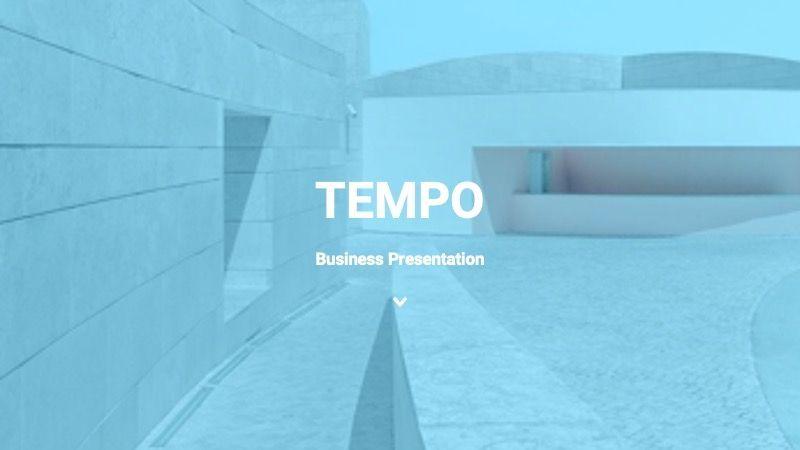 TEMPO Business Googleslide Template, Slide 2, 07836, Presentation Templates — PoweredTemplate.com