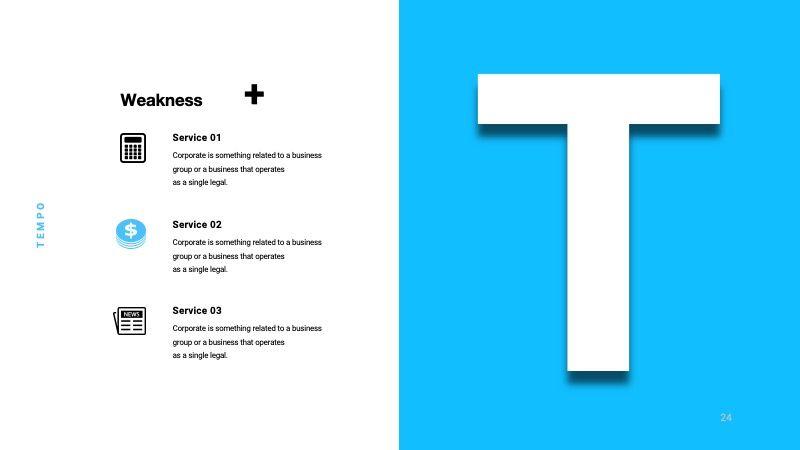 TEMPO Business Googleslide Template, Slide 25, 07836, Presentation Templates — PoweredTemplate.com