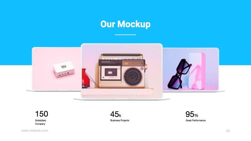 TEMPO Business Googleslide Template, Slide 27, 07836, Presentation Templates — PoweredTemplate.com
