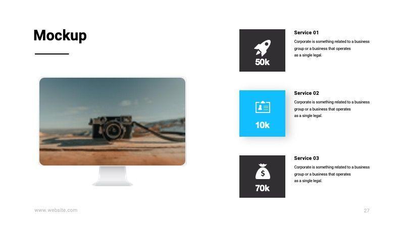TEMPO Business Googleslide Template, Slide 28, 07836, Presentation Templates — PoweredTemplate.com
