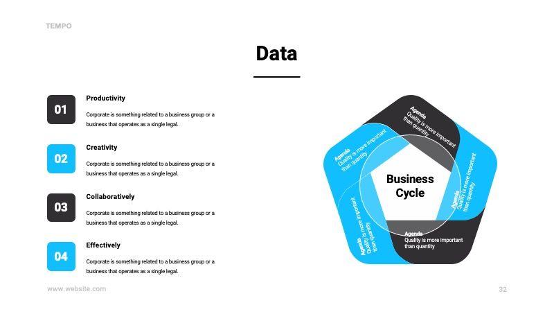 TEMPO Business Googleslide Template, Slide 33, 07836, Presentation Templates — PoweredTemplate.com
