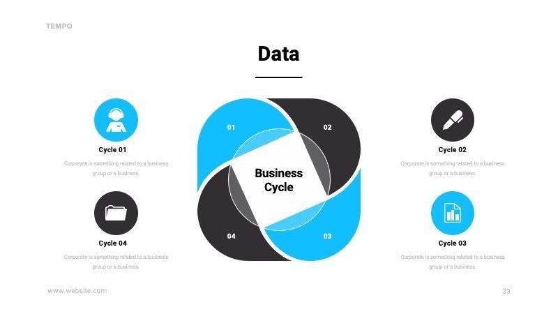 TEMPO Business Googleslide Template, Slide 34, 07836, Presentation Templates — PoweredTemplate.com